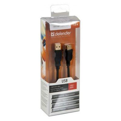 Defender удлинитель USB 2.0 AM/AF 1.8m (87429)