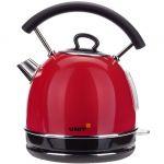 Электрический чайник Unit UEK-261 красный сталь, цветная эмаль