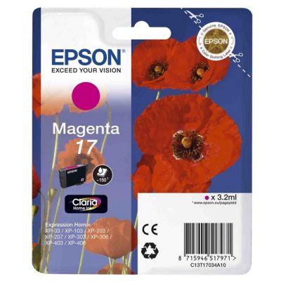 Картридж Epson Magenta/Пурпурный (C13T17034A10)