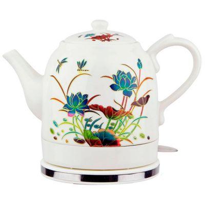 Электрический чайник Великие реки Малиновка-6 ,лотос