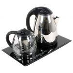 Unit Чайный набор UEK-232 сталь, стекло