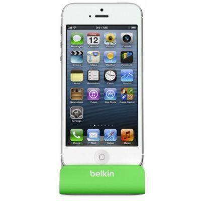 ���-������� Belkin ���-������� Belkin Charge + Sync Dock, Green F8J045btGRN