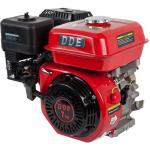 Двигатель DDE бензиновый четырехтактный 170F-Q19 (19.05 мм, 7.0 л.с., 208 куб.см., фильтр-картридж, датчик уровня масла)