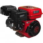 Двигатель DDE бензиновый четырехтактный 170F-S20 (20.0 мм, 7.0 л.с., 208 куб.см., фильтр-картридж, датчик уровня масла)