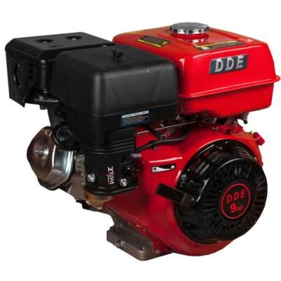 Двигатель DDE бензиновый четырехтактный 177F-S25 (25.0 мм, 9.0 л.с., 270 куб.см., фильтр-картридж, датчик уровня масла)