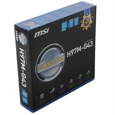 Материнская плата MSI H97M-G43