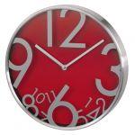 Настенные часы Hama аналоговые AG-300 красный