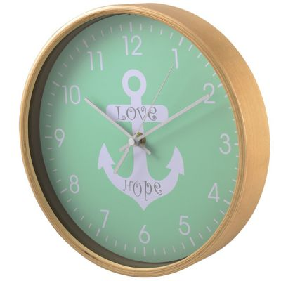 Настенные часы Hama аналоговые HG-260 зеленый