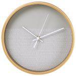Настенные часы Hama аналоговые HG-260 серый