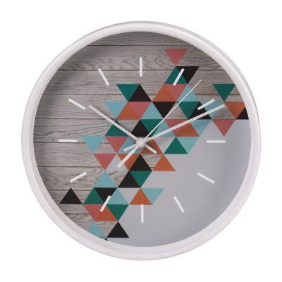 Настенные часы Hama аналоговые PG-260 серый