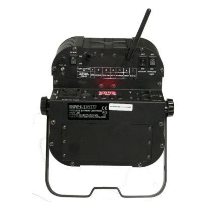Involight Аккумуляторный светодиодный RGB 9x3 Вт прожектор BATPAR93WR