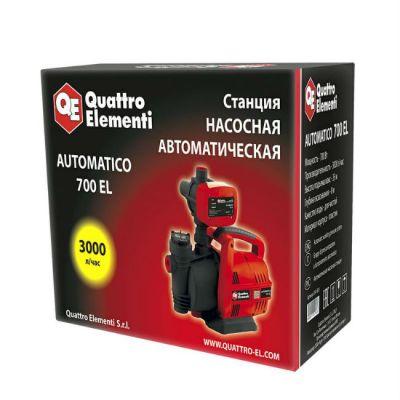 Насосная станция Quattro Elementi Automatico 701 EL (700 Вт, 3000 л/час, для чистой, 35 м) 241-826
