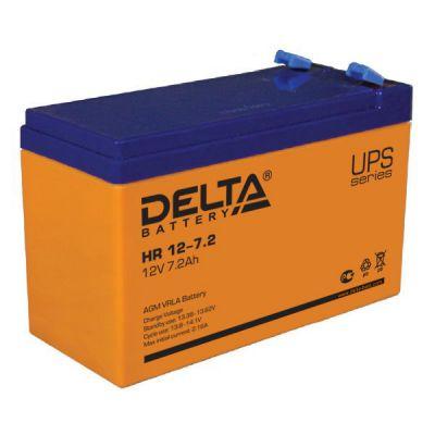 Аккумулятор Delta HR 12-7,2 (12V; 7,2Ah)