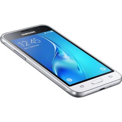 Смартфон Samsung Galaxy J1 (2016) SM-J120F 8Gb Белый SM-J120FZWDSER