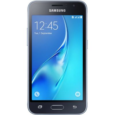 Смартфон Samsung Galaxy J1 (2016) SM-J120F 8Gb Черный SM-J120FZKDSER