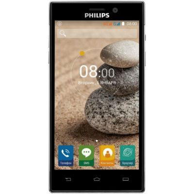Смартфон Philips Xenium V787 16Gb Черный 867000131742