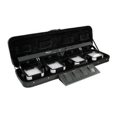 Involight 4xLED PAR (192 шт. RGB каждый), ножной контроллер, (без стойки) SBL1000