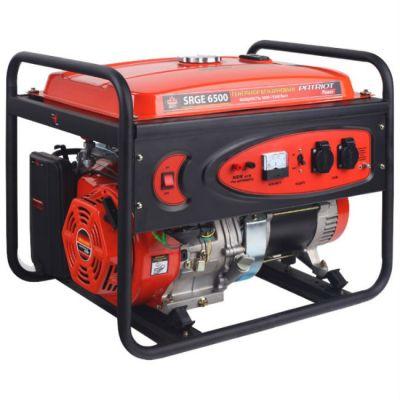 Генератор Patriot бензиновый Max Power SRGE 6500 474103166