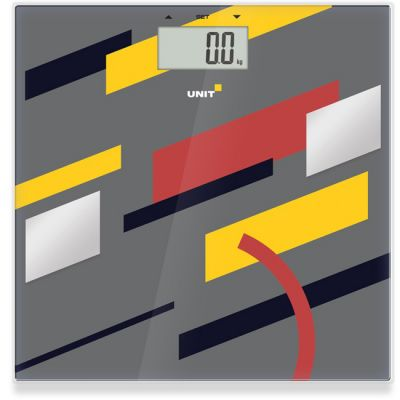 Весы напольные Unit UBS-2200 темно-серый