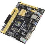 ����������� ����� ASUS Soc-1150 Intel H81 2xDDR3 mATX AC`97 8ch(7.1) GbLAN+VGA+DVI H81M-R/C/SI