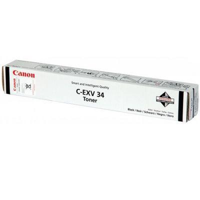 ��������� �������� Canon ������� �-EXV 34 ��� IR ADV C2020/2030 Black 3786B003AA
