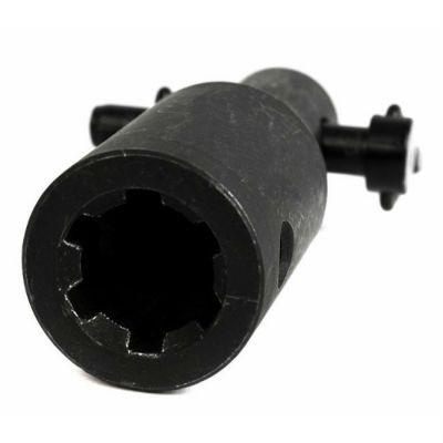 DDE Шнек - адаптер шнека (мотор type Stihl - шнек DDE) / (мама ф 20 мм шлиц. - папа ф 20 мм) S-DDE-as