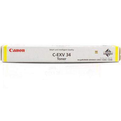 ��������� �������� Canon ����������� C-EXV34 yellow ��� ��� IR ADV C2020/2030 3789B003AA