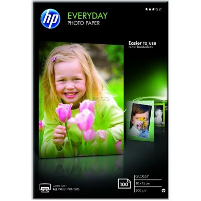 Расходный материал HP Everyday Glossy Photo Paper-100 sht/A4/210 x 297 mm Q2510A