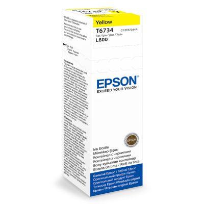 Чернила Epson L800 Yellow/Желтый (C13T67344A)