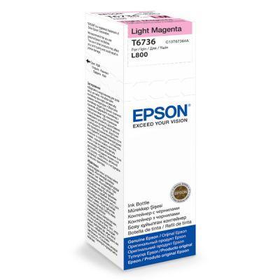 Чернила Epson L800 Light magenta/Светло-пурпурный (C13T67364A)