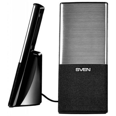 Колонки Sven 249 2.0 черный 4Вт SV-012533