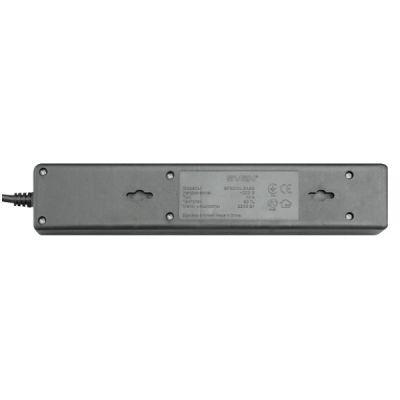Сетевой фильтр Sven Special base черный 1,8 м (5 розеток), С14 SVP-SV-00546