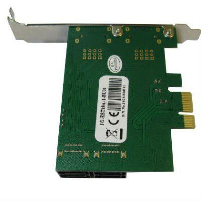 ���������� Espada PCI-E, 4 ����� ����� SATA3, oem FG-EST18A-1