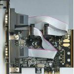 Контроллер Espada PCI-Express, 2xCOM 9m, FG-EMT03C-1-CT01