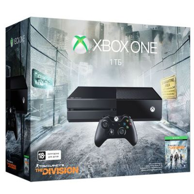 ������� ��������� Microsoft Xbox One 1 TB + ���� Tom Clancys The Division KF7-00139
