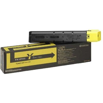 Картридж Kyocera TK-8705Y Yellow/Желтый (1T02K9ANL0)