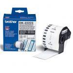 Расходный материал Brother бумажная клеящаяся лента DK-22223