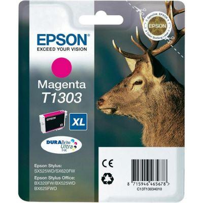 Картридж Epson T1303 Magenta/Пурпурный (C13T13034010)