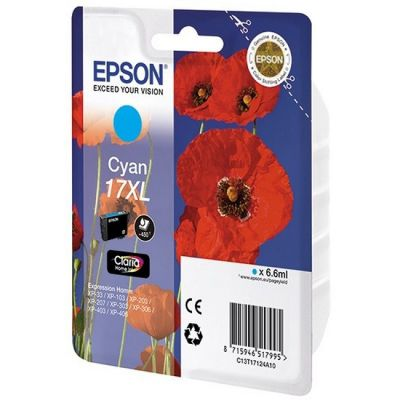 ��������� �������� Epson �������� epson ��� Expression Home XP103/203/207 ������� (17XL) C13T17124A10