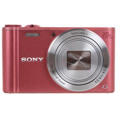 Компактный фотоаппарат Sony DSC-WX350 Pink