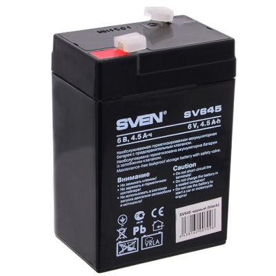 Аккумулятор Sven SV 645 (6V4.5Ah) SV-0222064