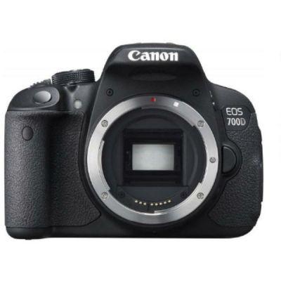 Зеркальный фотоаппарат Canon EOS 700D EF-S 18-55mm DC III черный 8596B095