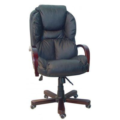 Офисное кресло Сарос Барон черный