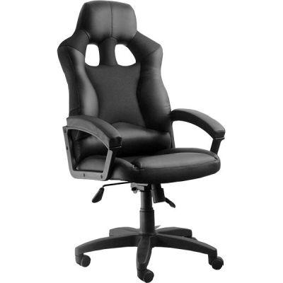 Офисное кресло Сарос Дик пластик черный