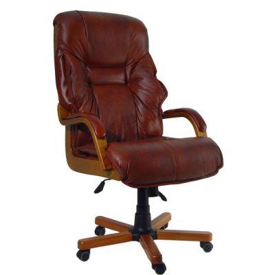 Офисное кресло Сарос Алтын-XXL коричневый