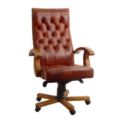Офисное кресло Сарос Лорд коричневый