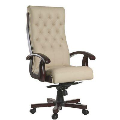 Офисное кресло Сарос Лорд бежевый