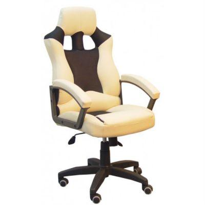 Офисное кресло Сарос Дик пластик бежевый/черный