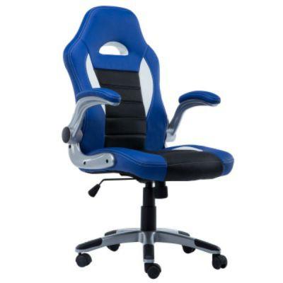 Офисное кресло Сарос Дик2 original черный/синий/белый