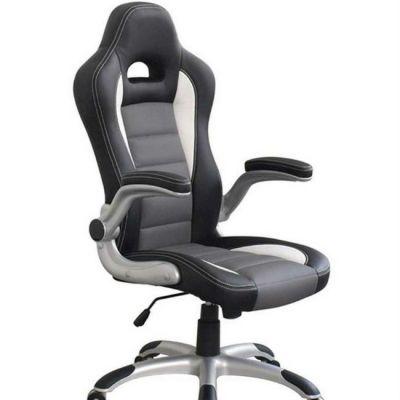 Офисное кресло Сарос Дик2 original черный/серый/белый
